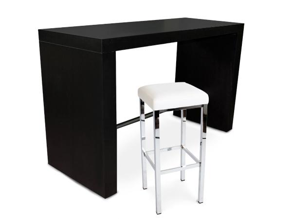 bartisch hochtisch wei 180x70cm leon. Black Bedroom Furniture Sets. Home Design Ideas